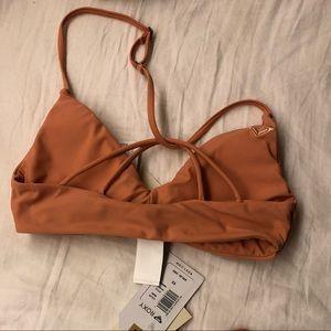 Roxy bikini top xs dusty pink